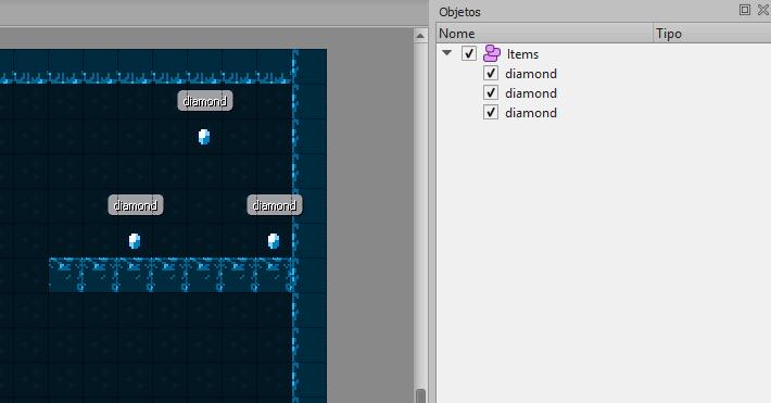 Integrando mapas do Tiled com o Phaser